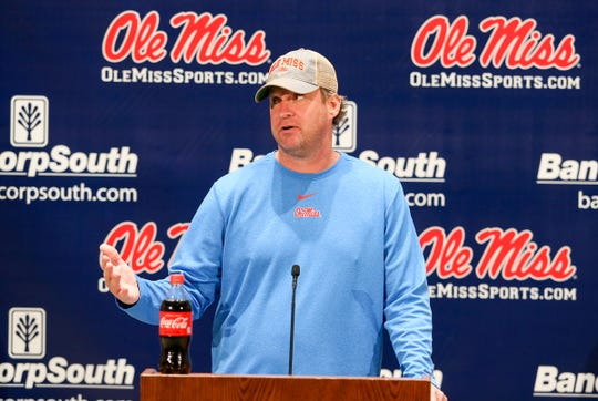 Ole Miss Football Head Coach Lane Kiffin