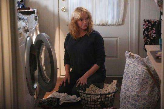 "Christina Hendricks stars as Beth Boland on NBC's ""Good Girls."""