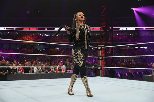 Knoxville professional wrestler Bianca Blair, known as Bianca Belair in the ring, competes WWE's development division, NXT.