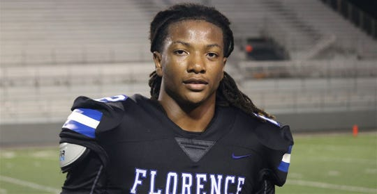 Four-star athlete Damarcus Beckwith of Florence (Ala.) High School.