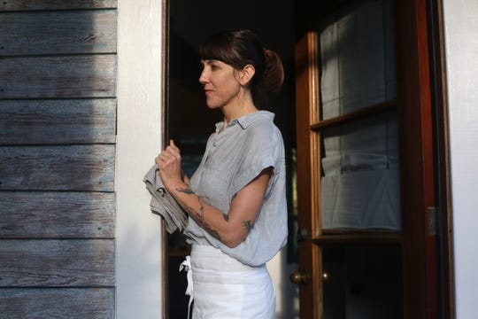 """Whitney Otawka, author of """"The Saltwater Table,"""" is the chef at Greyfield Inn on Georgia's Cumberland Island."""