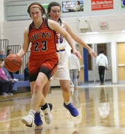 Lucas senior Paige Arnold led the Lady Cubs with 14 points in a win over Ontario on Tuesday night.