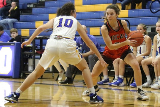 Lucas' Shelby Grover hopes to help the Lady Cubs clinch their first league championship since 1979.