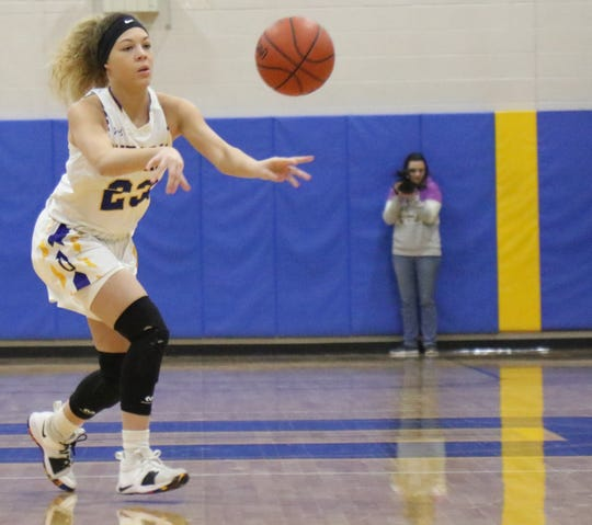 Ontario's Carleigh Pearson was named first team All-Mid-Ohio Athletic Conference.