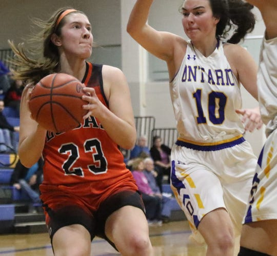 Lucas' Paige Arnold has the Lady Cubs at No. 2  in the Richland County Girls Basketball Power Poll.