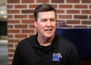 Memphis defensive coordinator Mike MacIntyre