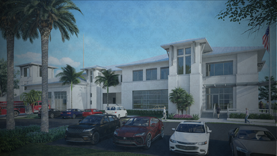 The new fire station in Marco Island, which would replace the one located at 1280 San Marco Rd., will include an emergency operations center, a training tower and cancer prevention technology, according to Chief Michael Murphy of the Fire-Rescue Department.