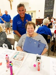 On Thursday, Jan. 30, the Knights of Columbus San Marco Council #6344 hosted a Bingo Night in the San Marco Parish Center. The Coach bag winner was Linda Wasilevich of Wisconsin.