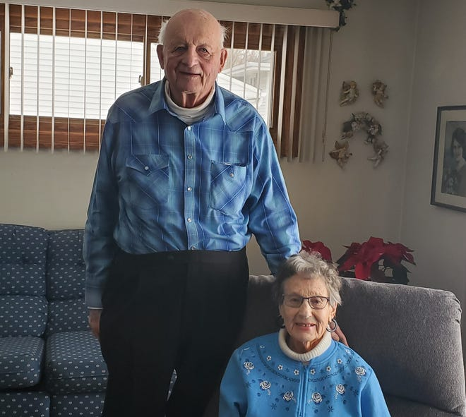 Fred and June Keller will be celebrating 65 years of marriage June 4. They have lived in their same house in Sussex their whole marriage.
