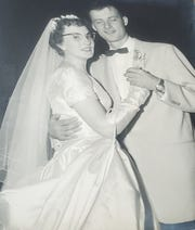 June and Fred Keller were married June 4, 1955. The Sussex couple will celebrate their 65th anniversary this year.