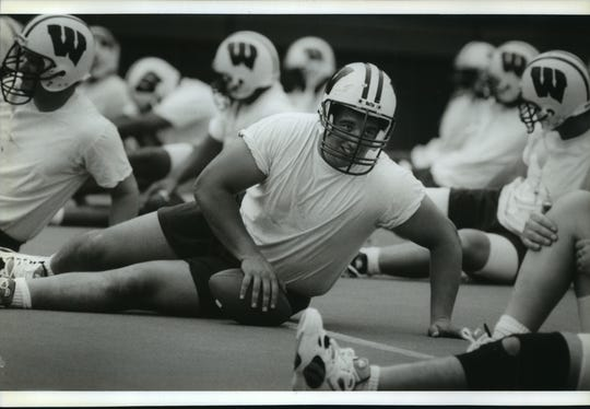 Joe Panos was captain of the 1994 Rose Bowl champion Badgers.