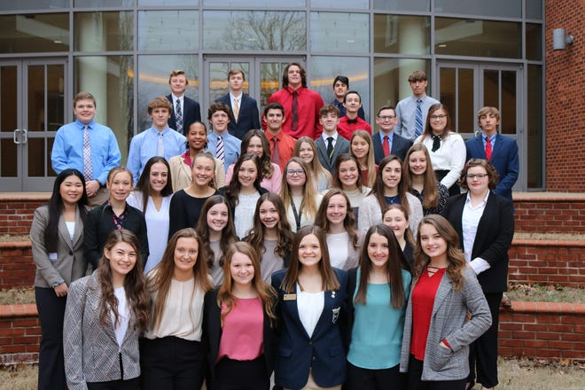 Members of the Mountain Home High School FBLA chapter competed Jan. 31 in the District VI Spring Conference,and it came away with several honors. Mountain Home took part in 33 events and advanced to the state competition in 19 events.