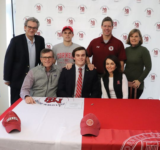 Morristown-Beard senior Nate Panza plans to continue his football and academic career at Cornell University.