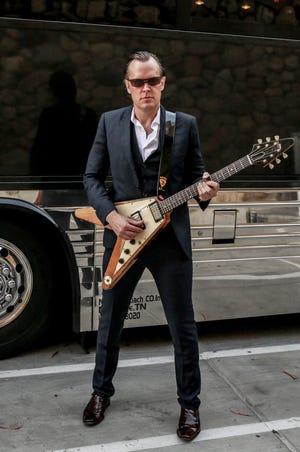 Guitar legend Joe Bonamassa performs Thursday, Feb. 13, at the Montgomery Performing Arts Centre.