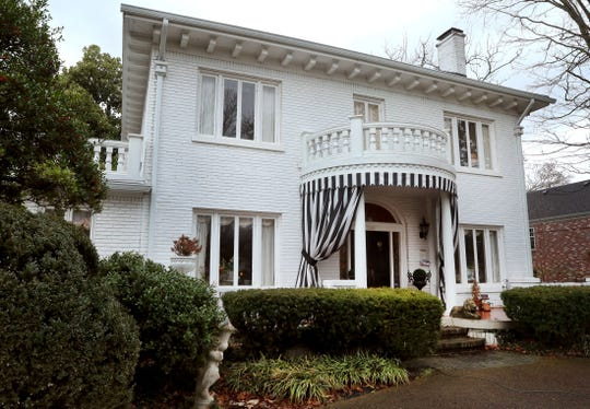 The home of Ellen and Paul Willson at 1001 E. Main St. in Murfreesboro is the site of this year's Charity Circle Ladies ValentineLuncheon.