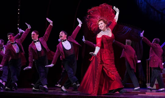 "Carolee Carmello as Dolly Levi in the touring company of ""Hello, Dolly!"