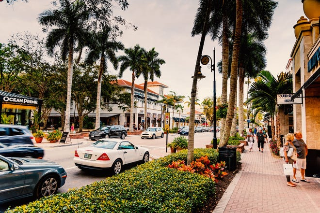 Old Naples is known for its upscale shopping, beautiful beaches and fine dining.