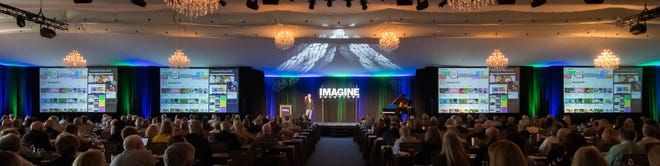 On February 24, as many as 18 exceptional speakers and presenters will grace the Imagine Solutions stage at the Ritz-Carlton Golf Resort in Naples at the Imagine Solutions 2020 conference.
