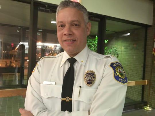 Passaic Police Chief Luis Guzman