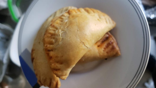 Empanadas from the Freetown Road Project in Jersey City.