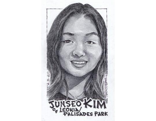 Junseo Kim, Leonia/Palisades Park swimming