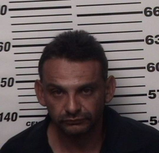 Paul Carrasco was arrested Feb. 3 by Eddy County Sheriff's deputies during an investigation of stolen copper wire and property.