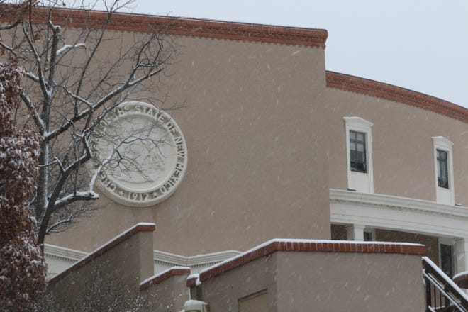 The New Mexico State Capitol is pictured, Feb. 4, 2020 in Santa Fe.