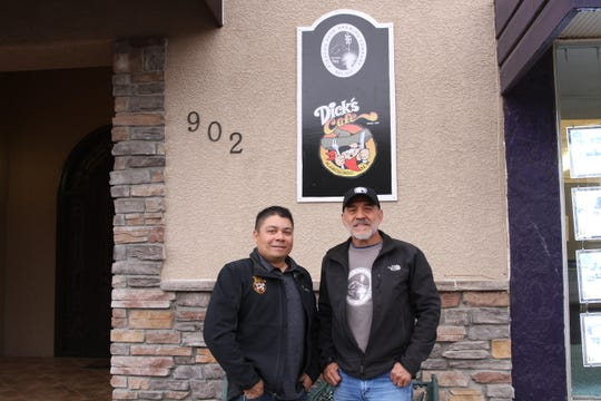 Dick's Café owner Ace Perez and Picacho Peak Brewing Company owner Xavier Mendez recently embarked on a new partnership between the long-time Las Cruces restaurant with Picacho Peak Brewing Company.
