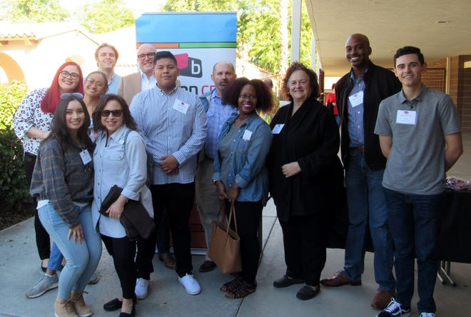The team from diamond sponsor Barton CPA was on hand for the event.