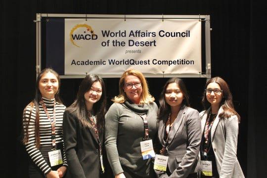 Palm Desert High School wins the 2020 Academic WorldQuest