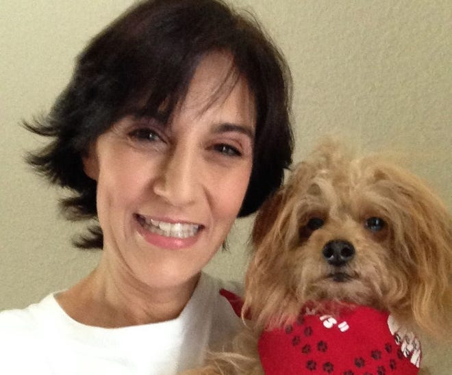Risa Wolfson and Shaina have been Paws & Hearts volunteers for five years.