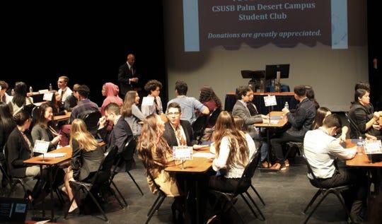 2020 Academic WorldQuest at CSUSB Palm Desert