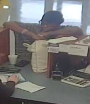 Pensacola police have released surveillance photos of a woman who is accused of robbing Gulf Winds Credit Union in Pensacola on Tuesday, Feb. 4, 2020.