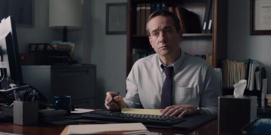 Matthew Macfadyen in a scene from 'The Assistant.'