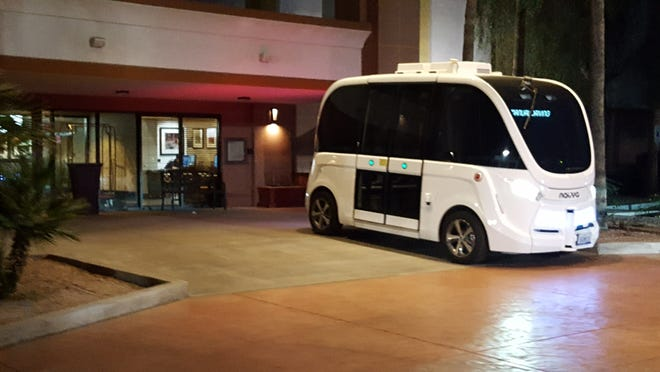 Peoria approved a 60-day pilot program with Florida-based autonomous bus company Beep. The program will launch Feb. 22, 2020.