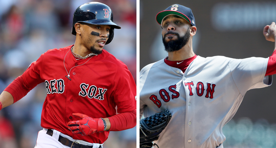 Mookie Betts, David Price