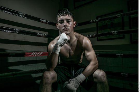 Con 16 años, Johansen Álvarez Suárez debutará como pugilista profesional a principios de abril.