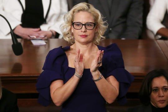 Kyrsten Sinema, senadora por Arizona.