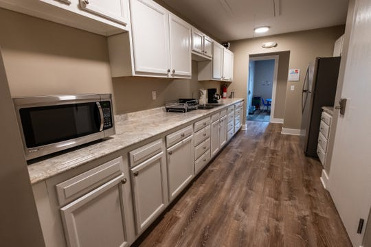 A kitchenette is available to help teach life skills at Autism Systems in Fort Gratiot.