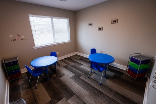 One of the seven therapy rooms that will be available at Autism Systems in Fort Gratiot.