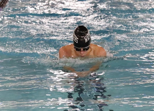 Sebastian Smith, a sophomore on the Wappingers boys swimming team, qualified for the state tournament in the 100 butterfly and is part of the 400 freestyle relay team that will compete there next month.