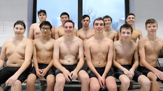 The Wappingers boys swimming team went 7-1 in the regular season and took second in the Conference 2 championships despite having only 11 swimmers on the roster.