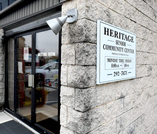 Dover's Heritage Senior Center, Wednesday, Feb. 5, 2020, will move to a new building nearby its current Davisburg Road location in 2020. Bill Kalina photo