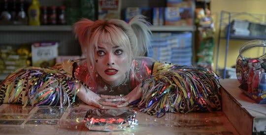 "Margot Robbie stars in ""Birds of Prey: And the Fantabulous Emancipation of One Harley Quinn."" The movie opens Thursday at Regal West Manchester, Queensgate Movies 13 and R/C Hanover Movies."