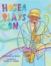 "The cover of Kathleen Blasi's children's book, ""Hosea Plays On."""