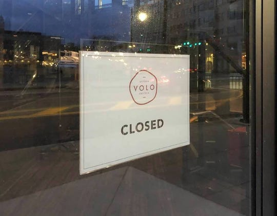 Downtown Rochester's VOLO Osterio and Enoteca has closed temporarily.
