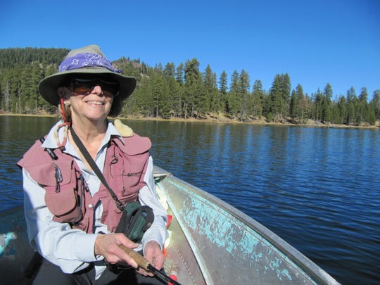 """Maddy Sheehan has published updated versions of """"Fishing in Oregon"""" for more than three decades. The just-released magnum opus, the 12th edition, will be her last"""