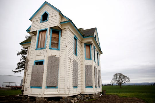 "A home built 1864 on a plot of land west of Silverton that was used in the Alan Alda movie ""Isn't It Shocking?""."