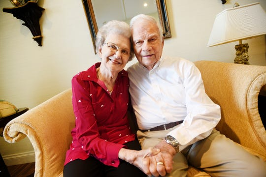 Theo Crawford Williams and Gaynelle Irby Williams have been married for 63 years.