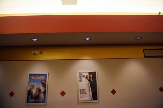 West Mall 7 Theatres is painted after suffering fire damage last month on Wednesday, Feb. 5, 2020 at West Mall 7 Theatres. The business plans to re-open on Friday.
